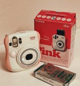Fujifilm Instax Mini 25 Pink + картридж