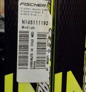 Лыжи конек 192 Fischer carbonlite Cold