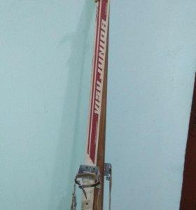 Лыжи лыжные ботинки советские лыжные палки