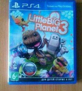 Игра Little Big Planet 3 на PS4
