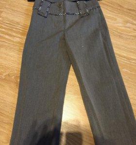 Костюм школьный брюки+жилетка для девочки