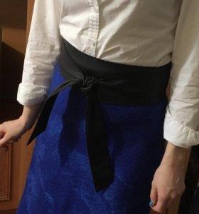 Валеная юбка из натуральной шерсти))