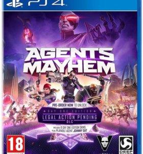 Agents Mayhem PS4