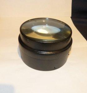 Линза Конденсор Трёхлинзовый диаметр 12.9см