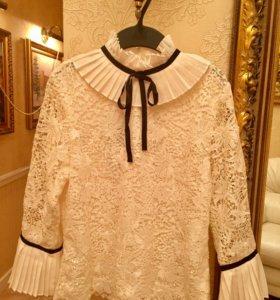 """Новая блузка из кружева """"Erdem x H&M"""" - 36р."""