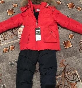 Новый зимний костюм на мальчика 3-4 года