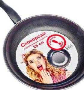 Сковорода с антипригарным покрытием, углерод 🍳