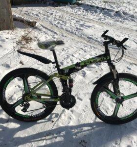 Велосипед новый! Складной! Отправка по России !