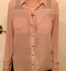 Блуза шифоновая Н&М