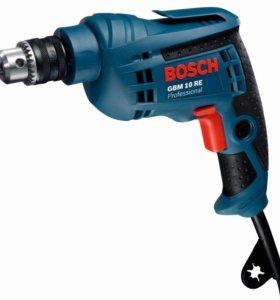 Дрель GBM Bosch 10 RE