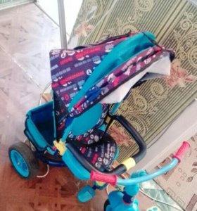 Велосипед с ручкой