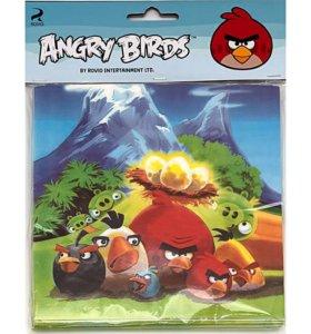 Посуда для праздника в стиле Angry Birds