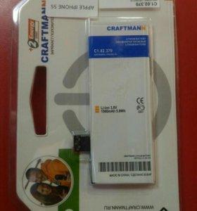 Аккумулятор iPhone 5s craftmann