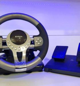 Игровой руль Defender GTR