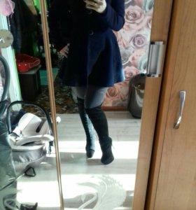 Пальто и сапоги!