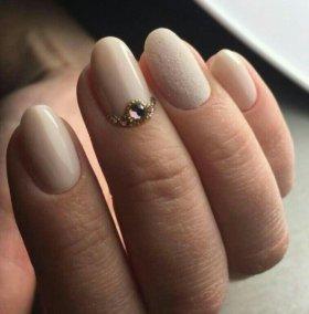 Наращивание ногтей гелем,шеллак,маникюр,педикюр