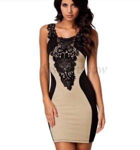 Обтягивающее платье стретч. Новое