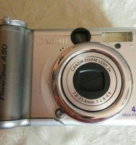 Фотоаппарат на запчасти и кофр