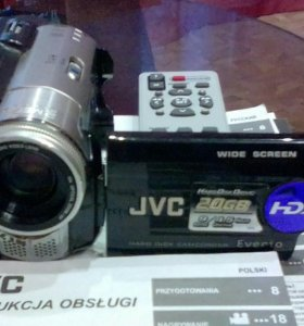 JVC- gz mg 67e HDD (20гб) Made in Malaysia