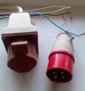 Розетка и вилка TDM Electric 380 В