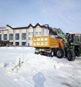 Вывоз снега строй мусора