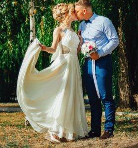 Платье выпускное свадебное