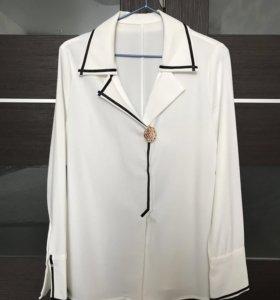 Новая рубашка в пижамном стиле 44 р-ра