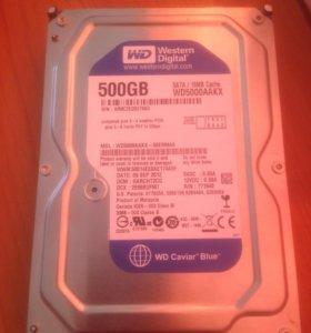 Жесткий диск на 500GB