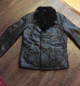 Мутоновая кожаная куртка
