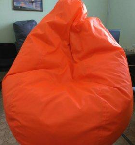 Кресло-мешок. Цвета:сер./кр./синий/сал/ор