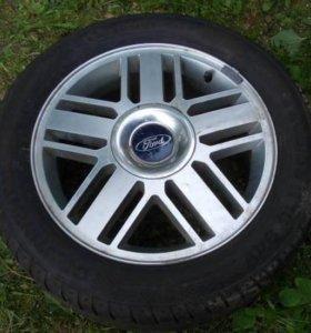 Продам диски с резиной на форд фокус 2