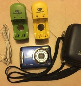Фотоаппарат Canon Powershot A 480 Blue