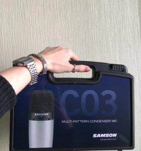 Samson C03 студийный конденсаторный микрофон