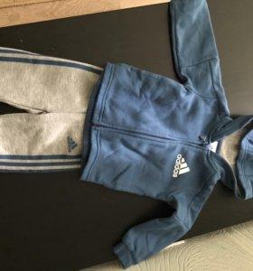 Спортивный хлопковый костюм детский Adidas