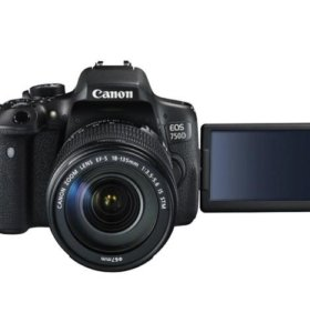 Canon 750d EF-S 18-135 IS STM