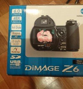 Фотоаппарат Konika Minolta dimage z6
