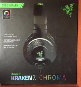 Наушники Razer Kraken 7.1 Chroma