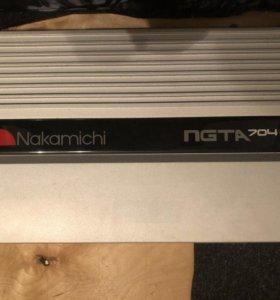 4-х канальный усилитель Nakamichi NGTA 704