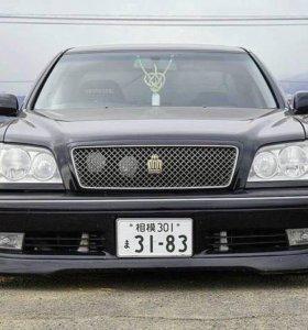 Обвес передняя губа на Crown кузова s170