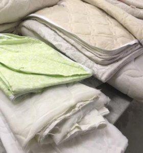 Чехлы и куски стеганой ткани