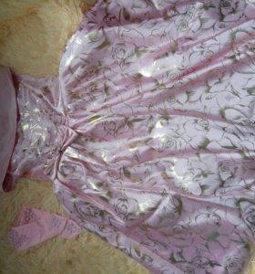 Праздничное платье 7-9 лет