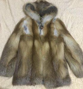 Шуба из лисы