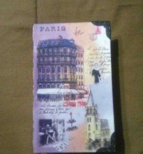 """Сейф книга """"Париж"""""""