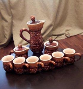 Кофейный сервиз, керамика