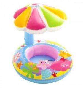 Надувной круг для плавания детский