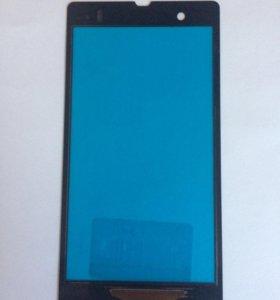 Тачскрин для телефона Sony Z c6603 чёрный.