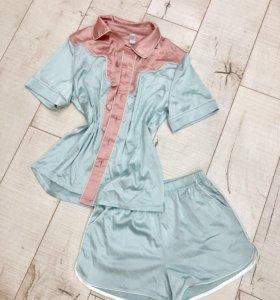 Шикарные пижамы шортиками