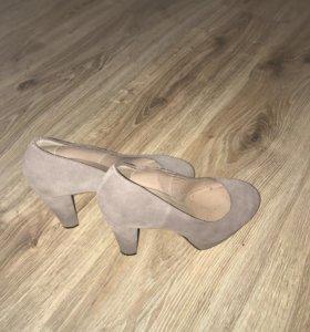 Туфли замшевые Alba