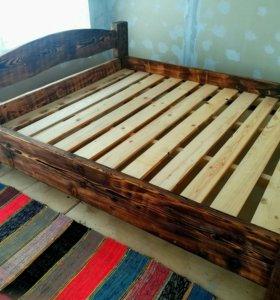 Кровать из массива 1800*2000