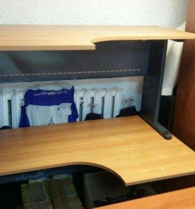 Столы офисные вишня бу